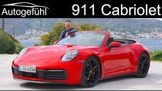 Porsche 911 Cabriolet FULL REVIEW All New 992 Convertible   Autogefühl