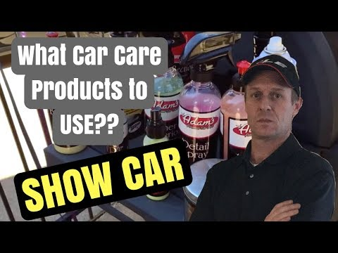 WHICH CAR CARE PRODUCTS TO USE ON A NICE CAR? – OCS Reviews