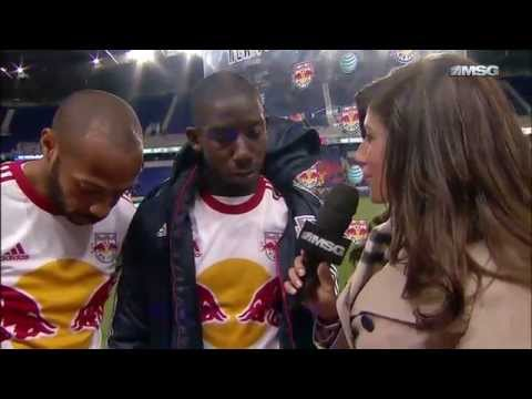 Interview with Thierry Henry & Bradley Wright Phillips