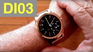 DIGGRO DI03 Fashion Tethering Smartwatch: Unboxing and 1st Review