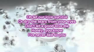 Martina McBride  - Suspicious Minds (Lyrics)
