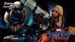 Грета и Стражи Галактики - Первый взгляд [Marvel's Guardians of the Galaxy: The Telltale Series]