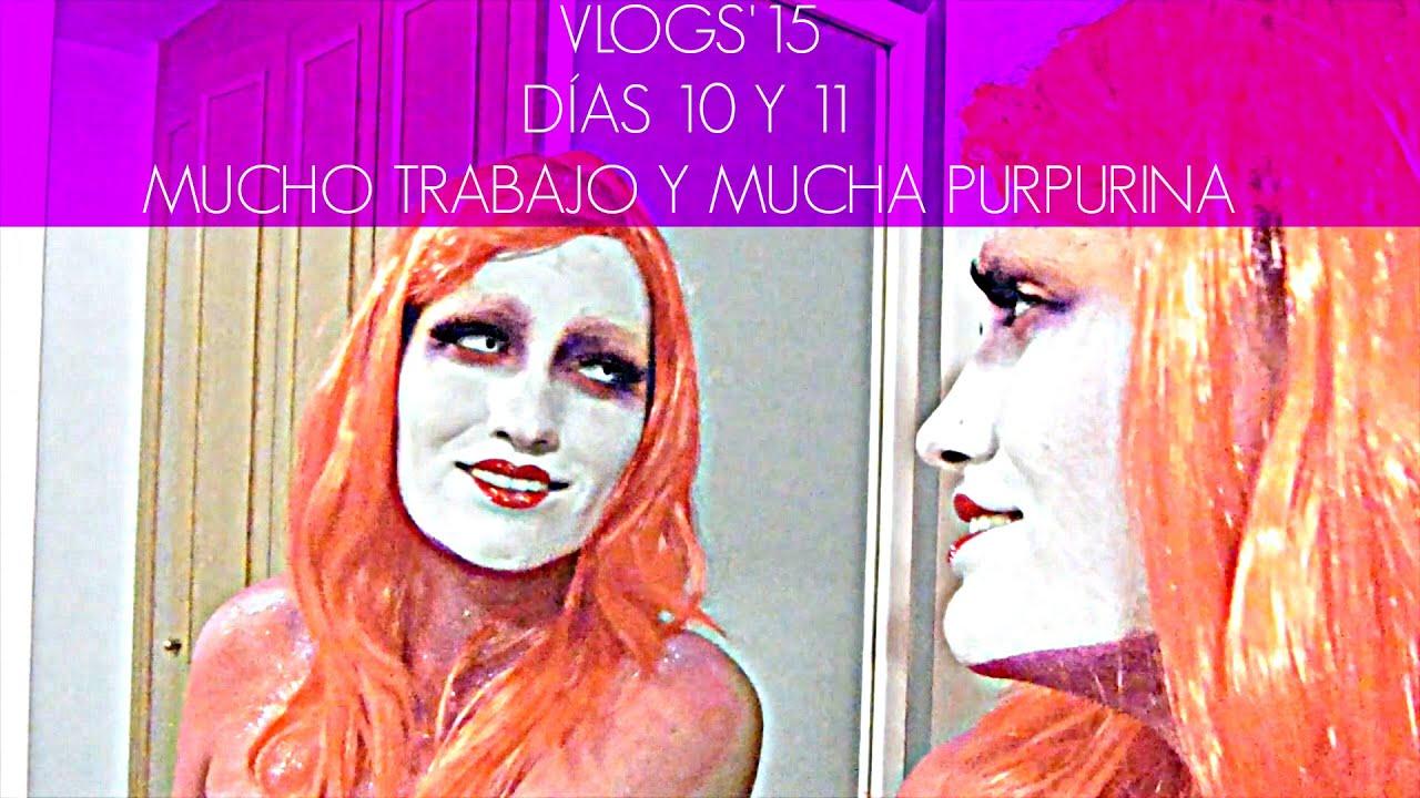 VLOG 10 y 11: Mucho trabajo y mucha purpurina (Nonivlogs'15)