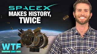 SpaceX makes history -- twice | What The Future