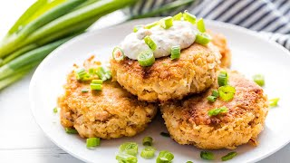 How To Make Perfectly Easy Crab Cakes | The Stay At Home Chef