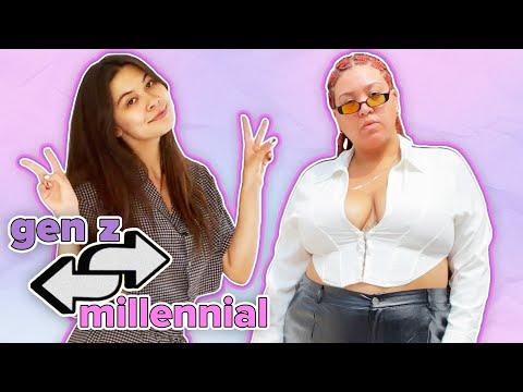 Gen Z Vs. Millennial Style Swap: Jazzmyne & Mei