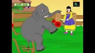 Hathi Raja Bahut Bade {Must Know Nursery Rhymes} In Hindi   Video Dailymotion