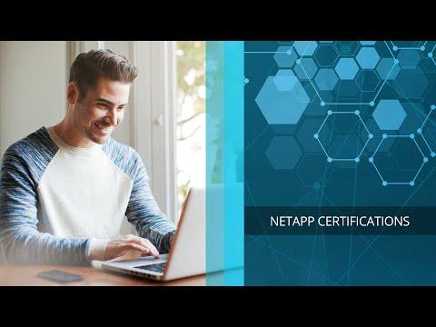 NetApp Certifications - YouTube