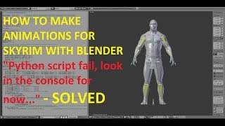 HOW TO MAKE AN ANIMATION FOR SKYRIM WITH BLENDER