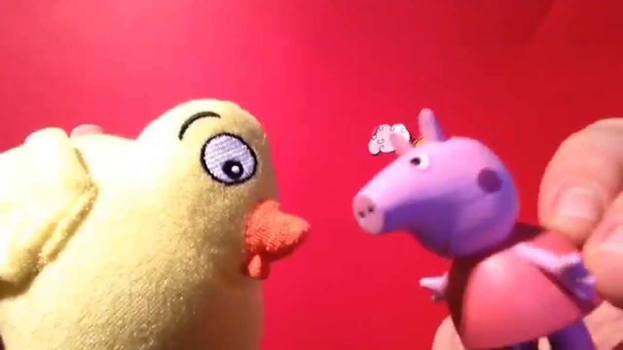 El Pollo Pepe y Peppa Pig cantan juntos.