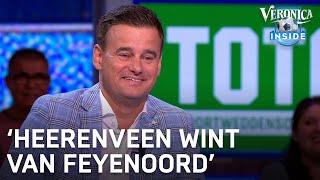 Toto-voorspelling: 'Heerenveen wint van Feyenoord' | VERONICA INSIDE