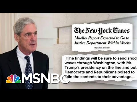Mueller Might Be Wrapping Up Soon… How Does President Donald Trump Feel? | Deadline | MSNBC