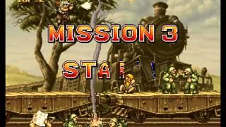 Test de metal slug 2 ( Neo-Geo arcade )