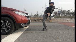 [ Autoherald TV] 혼다 CR-V 혼다 센싱 최초의 인간 테스트, 결과는?