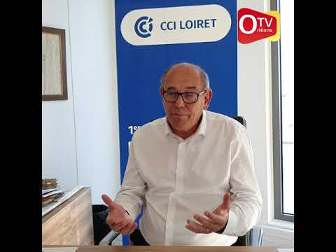 Alain Jumeau, Président de la CCI du Loiret 9 nov 2020