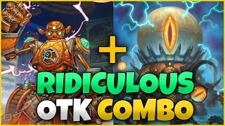 Double Mech Combo OTK   Pushing The Limit Of Hearthstone Combos!