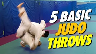 5 basic judo throws everyone should know