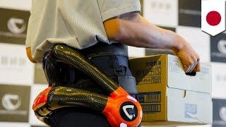 هيكل روبوتي يرتديه العمال العجائز لحمل الأشياء الثقيلة