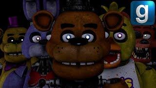 Gmod FNAF   Making Blacklight Freddy And Blacklight Foxy