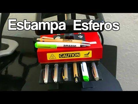 Estampadora de Esferos/Lapiceros/Bolígrafos 6 en 1 Usa Tech