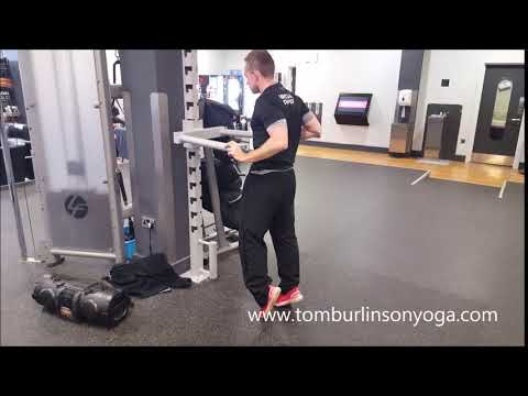 assisted single leg calf raise