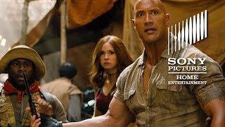 JUMANJI: WELCOME TO THE JUNGLE - Now on Blu-ray and Digital