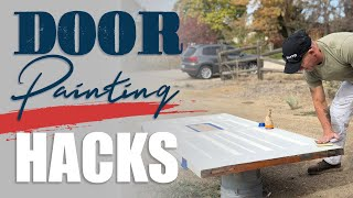 Door Painting Hack