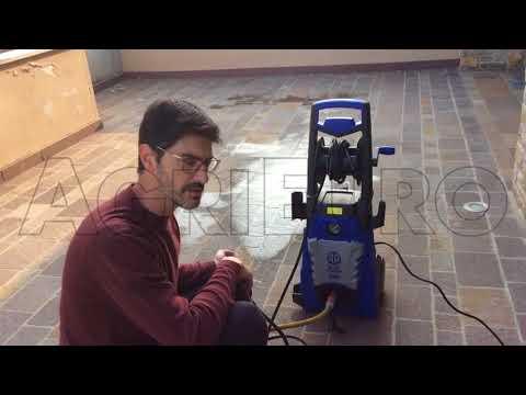 Come funziona l'idropulitrice elettrica ad acqua fredda  Annovi & Reverberi AR 586