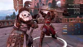 two lawbringers screaming in french at each other for almost 15 minutes