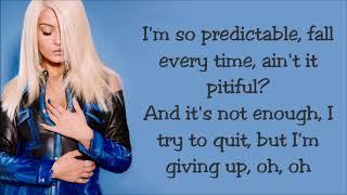 Bebe Rexha ~ Self Control ~ Lyrics