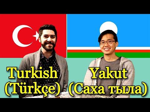 Similarities Between Turkish and Yakut (Siberian Turkic language)