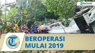 Bus Sri Padma yang Masuk Jurang di Sumedang Termasuk Unit Baru, Beroperasi 2019 dan Selalu Diservis