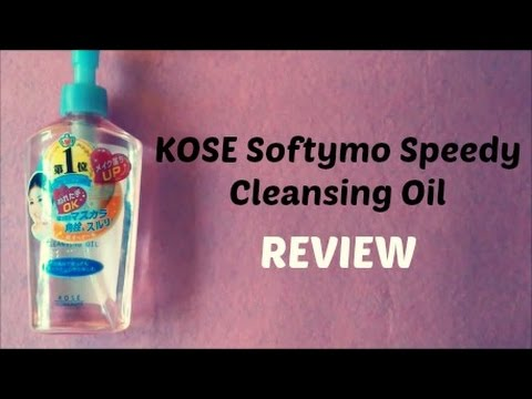 KOSE Softymo Speedy Cleansing Oil REVIEW