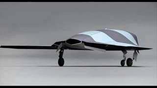 Америка в шоке Скат БПЛА разведывательный и ударный беспилотный летательный аппарат