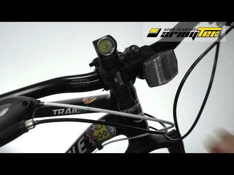 Jak zainstalować uchwyt Armytek ABM-01 na kierownicy roweru?