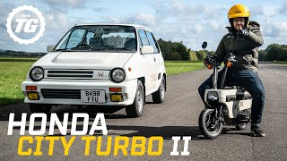 Honda City Turbo II: The 80s hatchback with a motorbike in the boot | Top Gear RETROspective