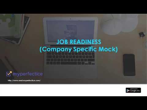 Job Readiness - Company Specific Mocks & Preparation - YouTube