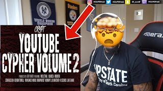 Crypt - YouTube Cypher Vol. 2 ft. Mac Lethal, Quadeca, ImDontai, VI Seconds & more  (REACTION!!!)
