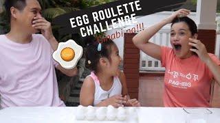 EGG ROULETTE CHALLENGE GINABI NA!!!!  | Yasmien Kurdi