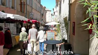 preview picture of video 'Une petite ballade à Nyons pour vos vacances.mov'