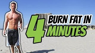 Burn Fat In 4 Minutes - Tabata Workout #1 - Live Lean TV by Live Lean TV