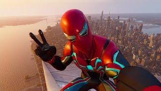 ДРУЖЕЛЮБНЫЙ СОСЕД ЧЕЛОВЕК ПАУК! SPIDER-MAN PS4 #2