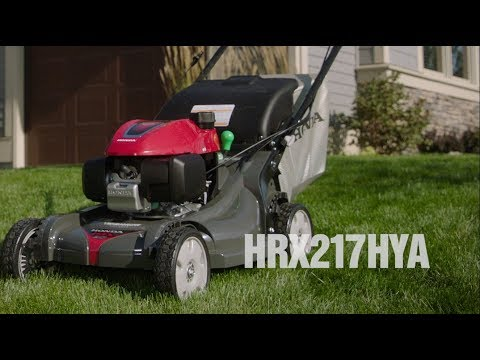 Honda Power Equipment HRX217HYA GCV200 Self Propelled in Wenatchee, Washington - Video 1