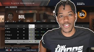 i turned player progression 100 in nba 2k20 and it broke everything...