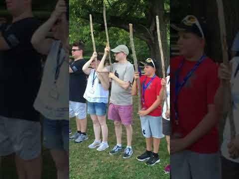 Ethan the patriot in trainings