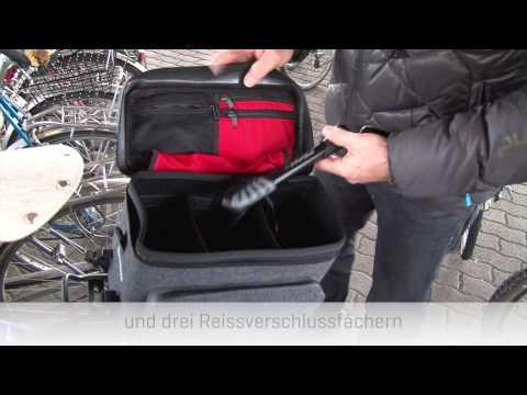 GRAN TURISMO, Gepäckträgertasche von Veloplus