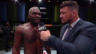 Derek Brunson Octagon Interview | UFC Vegas 36