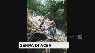 Gempa 65 SR Guncang Aceh Puluhan Bangunan Roboh