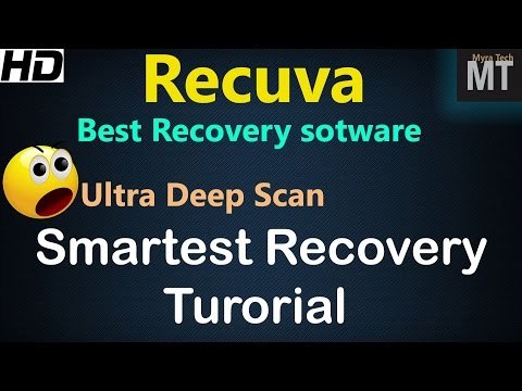 Video Recuva is Best Data recovery software for windows in 2016? Deep Scan recovery tutorial [HD]