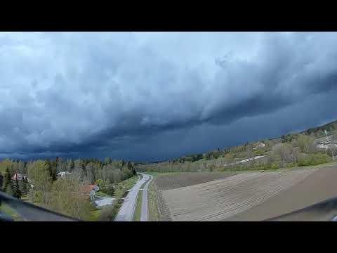 DJI digital FPV goggles DVR at 25mW on Holybro Kopis2 HDV 6S 1000mAh Before the Storm #1 (2020 #62)